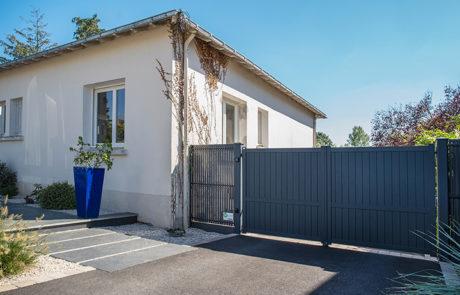 DECOJARDIN Nantes Portail Alu Et Allée En Ardoise