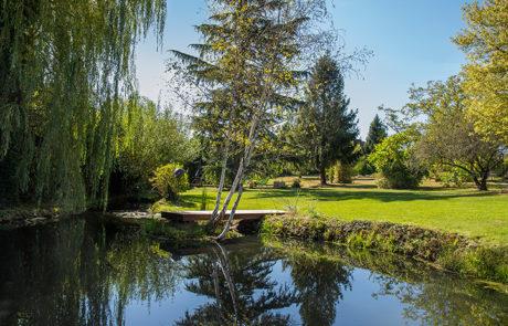 DECOJARDIN Réalisation Dun Ponton Bois Sur Un étang à Nantes